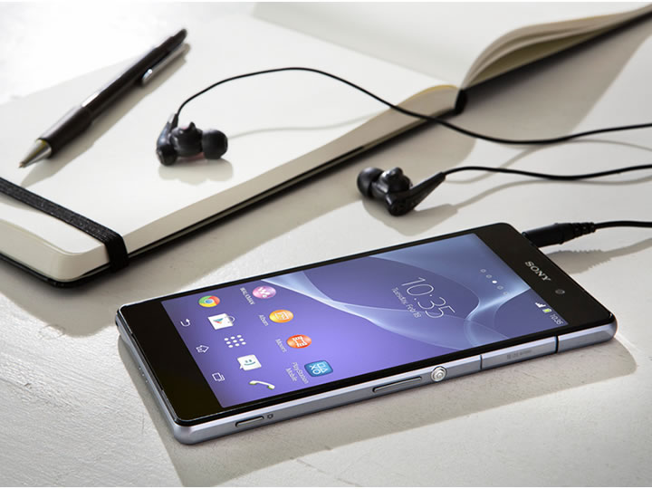 Sony divulga vídeos mostrando o Android Kitkat exclusivo do Xperia Z2