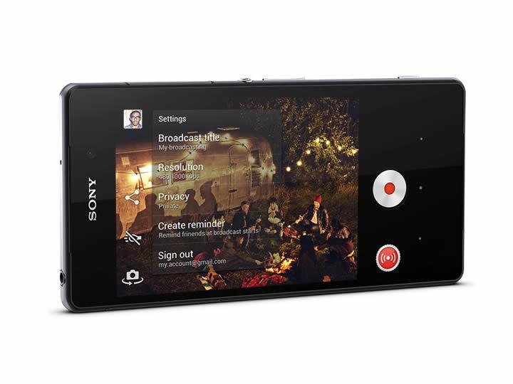 Sony Mobile permite transmissão ao vivo para o Youtube com o Xperia Z2