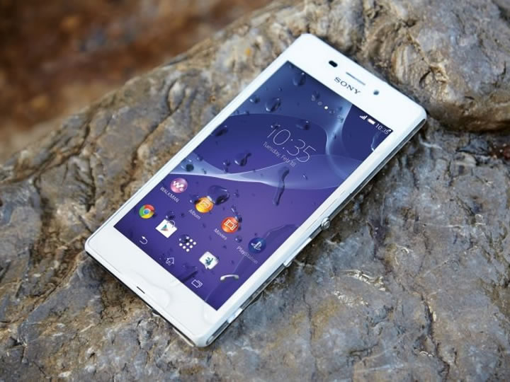 Sony Anuncia o Xperia M2 Aqua