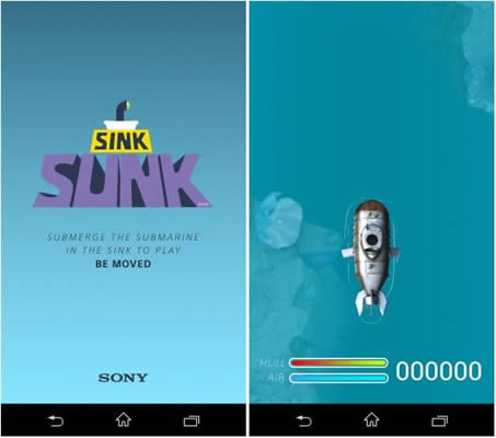 sink+sunk+Xperia+Brothers