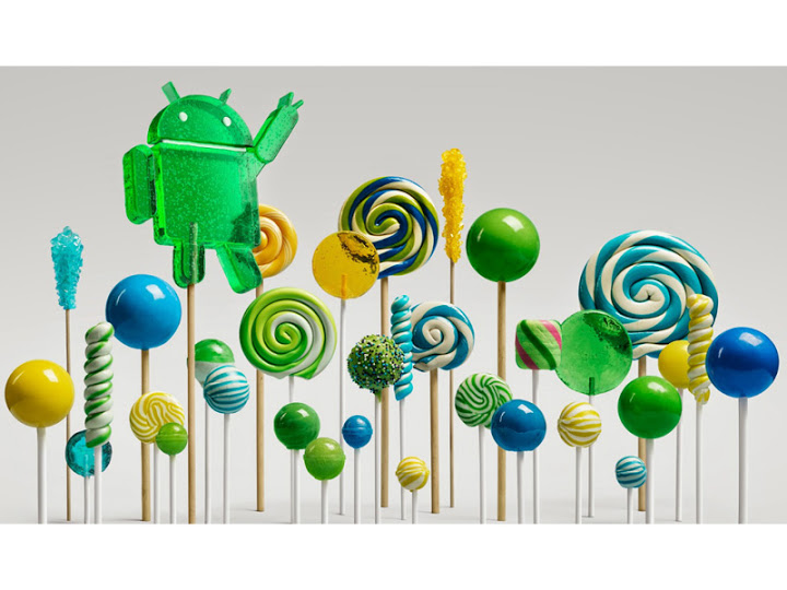 primeiros dispositivos Google a receberem o Lollipop