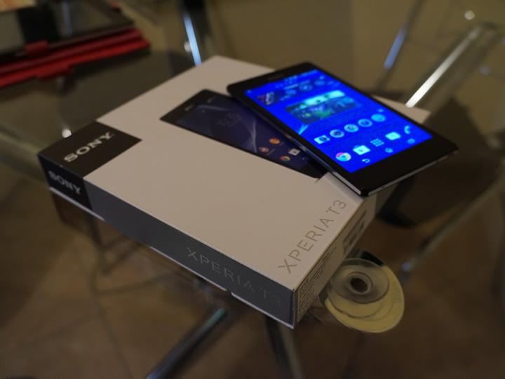 Review: Xperia T3, o smartphone de aço da Sony