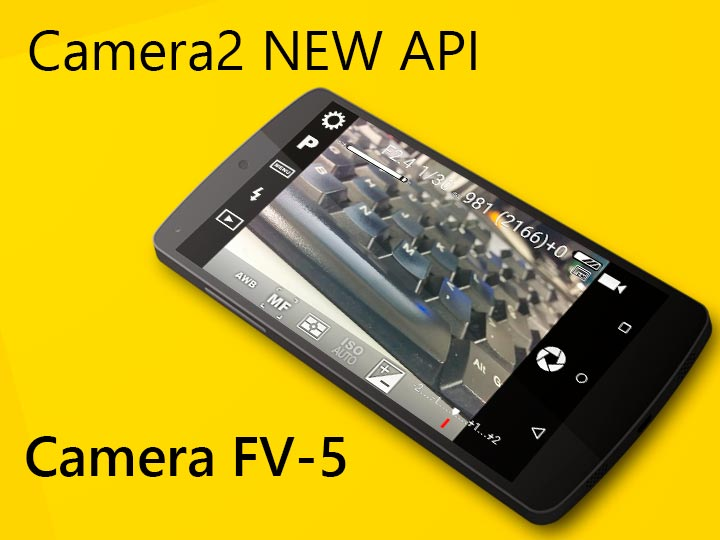 Camera FV-5 é o primeiro app a contar com captura RAW!